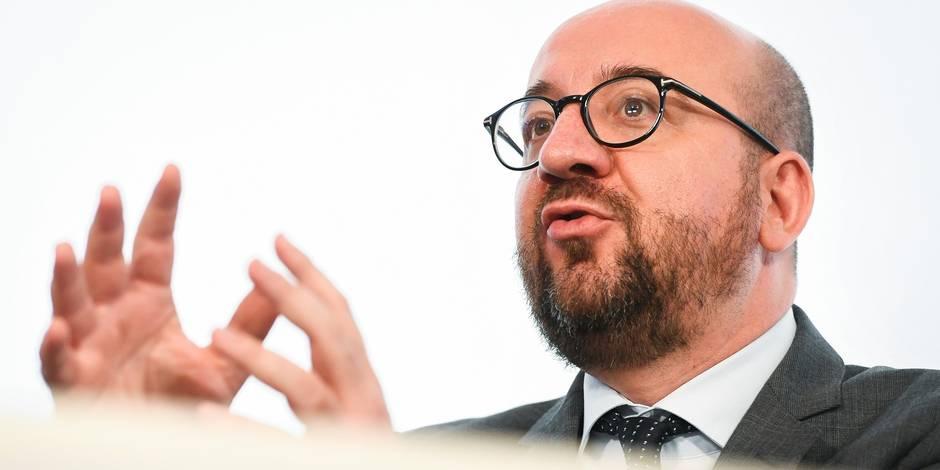 """Le dossier du stade national """"cochonné depuis le début par des amateurs"""", fustige Charles Michel"""