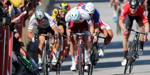 Sagan n'aurait pas dû être exclu du Tour de France - La Libre