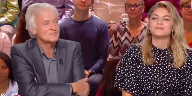 """Cette blague de Dave à Louane crée le malaise sur le plateau des """"Enfants de la télé"""" (VIDEO) - La Libre"""