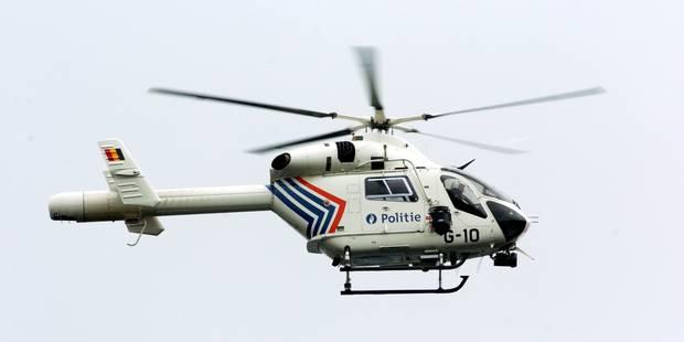 Forces de police et hélicoptère en appui: effervescence du côté de Basse-Wavre après un braquage à main armée - La Libre