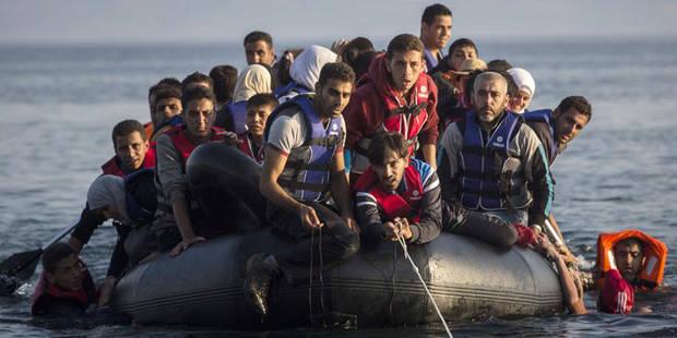 Crise des migrants: manifestation à Athènes de maires d'îles grecques en proie à la surpopulation - La Libre