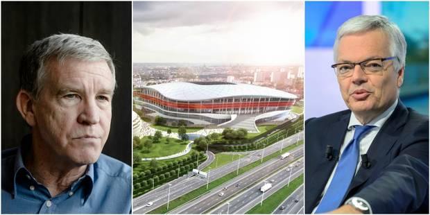 """Stade national: """"Une dépense inutile"""" pour Roland Duchâtelet, Didier Reynders aurait opté pour une rénovation du stade R..."""