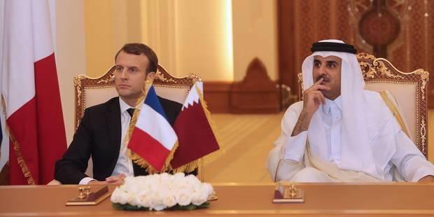 12 Rafale, 50 Airbus 321, métro de Doha: moisson de contrats pour Emmanuel Macron au Qatar - La Libre