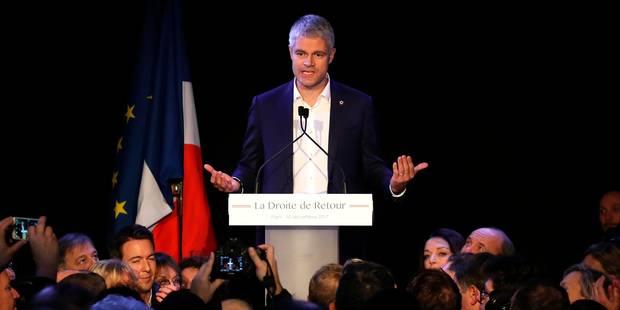 Laurent Wauquiez élu président des Républicains dès le premier tour - La Libre