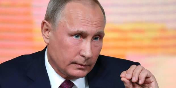 """Vladimir Poutine: """"Tous les stades du Mondial seront terminés à temps"""" - La Libre"""