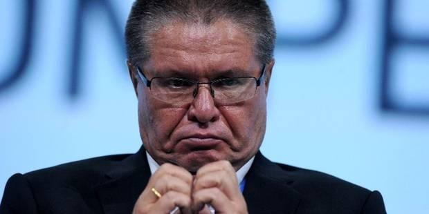 L'ex-ministre russe de l'Economie condamné à huit ans de camp - La Libre