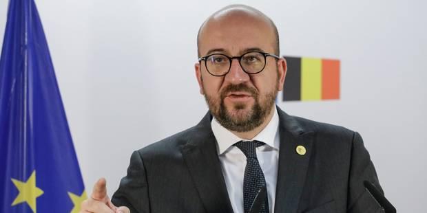 Charles Michel convie les ministres-présidents à un dîner informel - La Libre