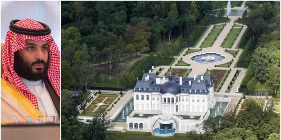 Mohammed ben Salmane, le prince héritier saoudien, acquiert la demeure la plus chère au monde, près de Paris