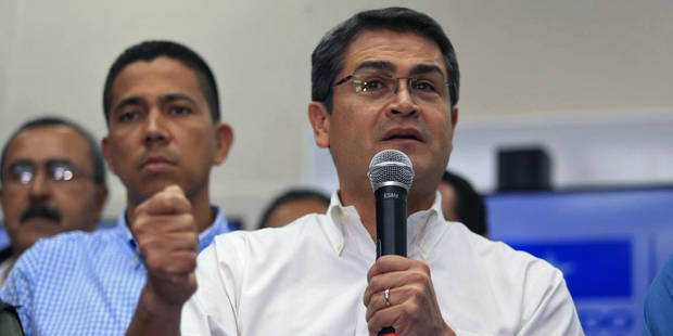 Honduras: Le président sortant Hernandez déclaré vainqueur après un scrutin controversé - La Libre