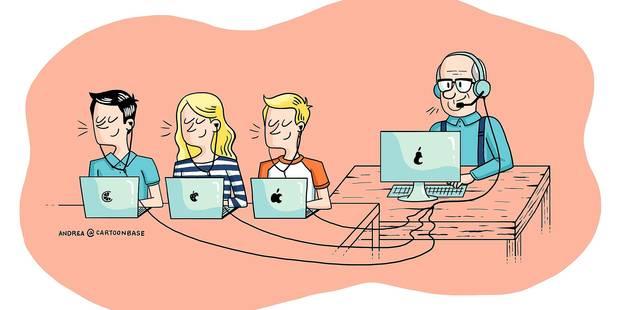 Internet nous informe, mais ne nous apprend rien (OPINION) - La Libre