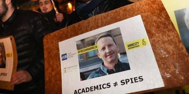 """Professeur de la VUB condamné à mort en Iran: l'UE suit la situation d'""""extrêmement près"""" - La Libre"""