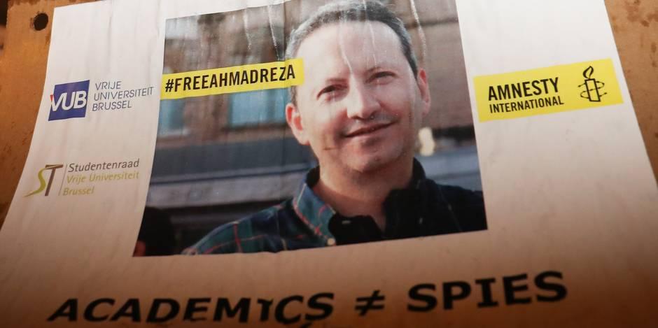 Ahmadreza Djalali, le professeur de la VUB condamné à mort, réfute la fausse confession diffusée par la télévision iranienne