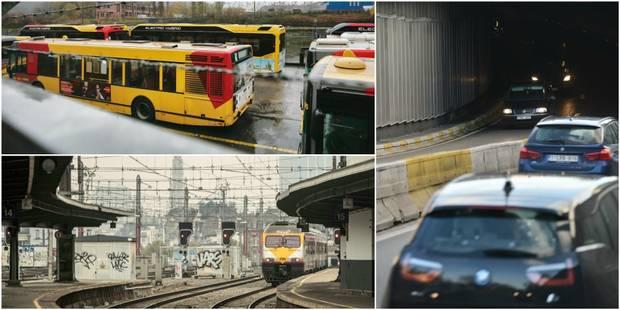 La manifestation nationale contre les pensions est terminée mais le trafic des trains et des Tec reste perturbé - La Lib...