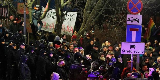 """Le président polonais accuse Bruxelles de """"mentir"""" sur les réformes judiciaires dans son pays - La Libre"""
