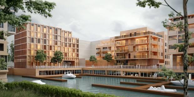 Une marina avec un hôtel 3 étoiles bientôt à Anderlecht - La Libre