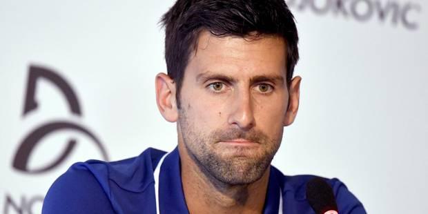 """Djokovic """"impatient"""" de reprendre la compétition après 18 mois """"de montagnes russes"""" - La Libre"""