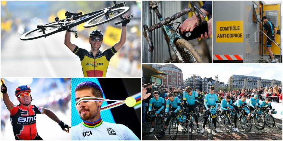 Les Belges rois des classiques, le dopage continue de faire parler de lui: les tops et flops de la saison cycliste - La ...