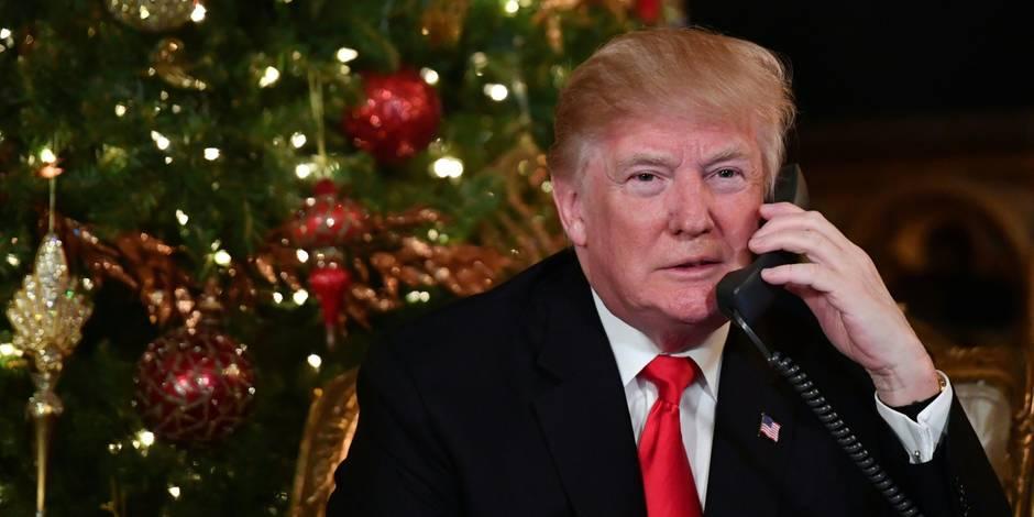 Trump célèbre sur Twitter la fin de sa première année à la Maison Blanche