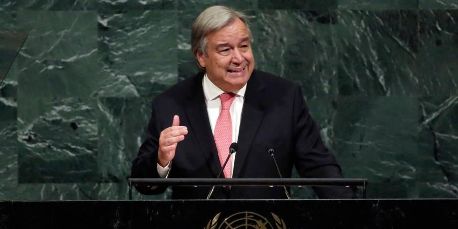 """Crise politique en RDC : Le secrétaire général de l'ONU se dit préoccupé par la """"violente répression"""" des manifestations"""