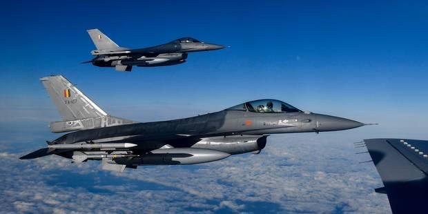 Otan: des chasseurs italiens et danois succéderont aux F-16 belges et F-15 américains - La Libre
