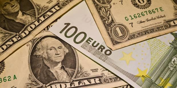 L'euro monte encore face au dollar, inquiétudes sur l'inflation américaine - La Libre