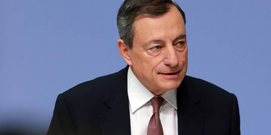 Ce qui nous attend en 2018 : la fin du règne de Mario Draghi et l'amorce d'un virage sur les taux d'intérêts - La Libre
