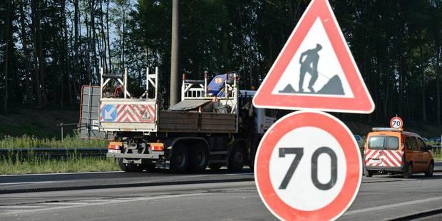 Voici les 15 gros chantiers prévus sur les routes wallonnes en 2018 - La Libre