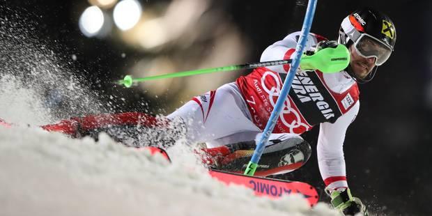 Coupe du monde de ski alpin : Marcel Hirscher décroche sa 50e victoire lors du slalom de Zagreb - La Libre