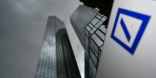 Une mauvaise nouvelle de plus pour Deutsche Bank - La Libre
