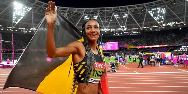 Le Sportif Préféré des Belges: Nafi Thiam est votre reine de coeur - La Libre