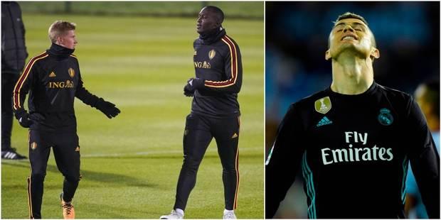 De Bruyne et Lukaku dans le Top 10 des joueurs les plus chers du marché, Cristiano Ronaldo loin derrière - La Libre