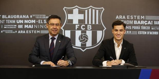 Le journal du mercato (08/01): Coutinho est officiellement Catalan - La Libre