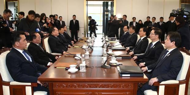 Séoul annonce le rétablissement de la liaison téléphonique militaire entre les deux Corées - La Libre