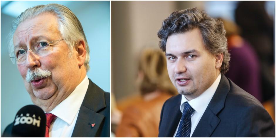 45 millions d'euros pour loger 450 fonctionnaires pendant 25 ans: le ministre Flahaut évoque l'urgence de la situation -...