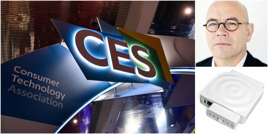 Cette start-up belge a été mise à l'honneur au salon de l'électronique à Las Vegas - La Libre