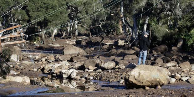 Californie: Des coulées de boue font quinze morts (PHOTOS & VIDEO) - La Libre
