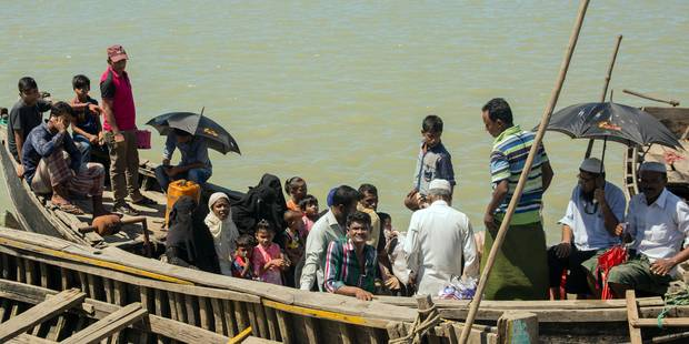 Rohingyas: l'armée birmane fait un premier pas pour reconnaître sa responsabilité - La Libre