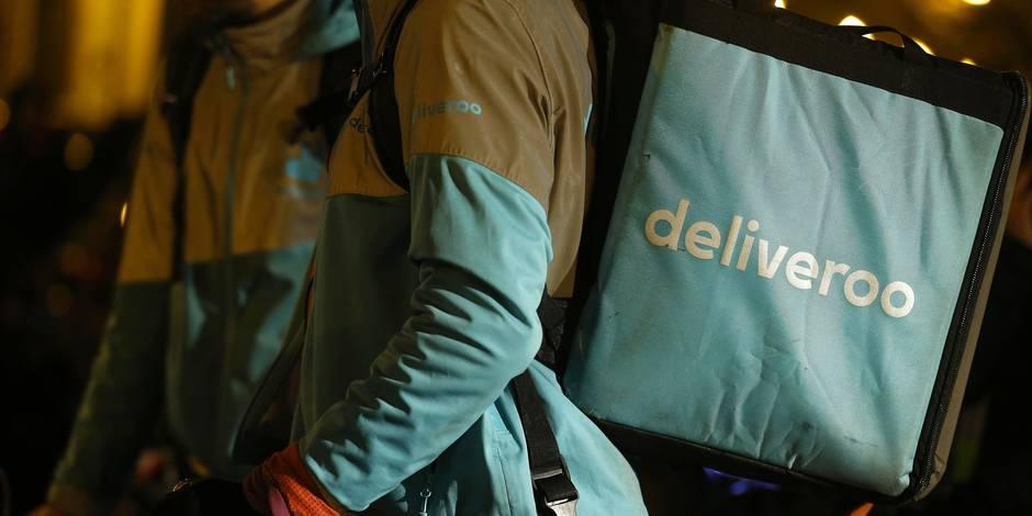Plus de 130 coursiers de Deliveroo en grève à Bruxelles et à Liège