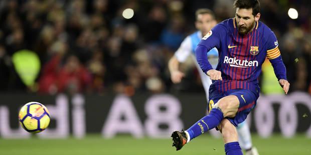 Lionel Messi vient d'établir un nouveau record - La Libre