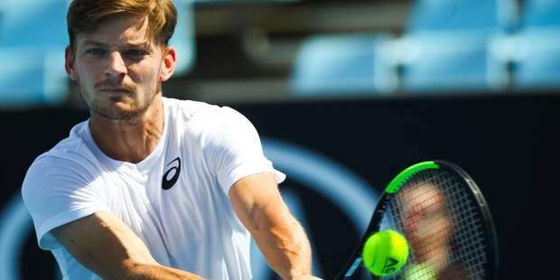 """Open d'Australie - Goffin face à l'Allemand Bachinger mardi: """"Continuer sur ma lancée"""" - La Libre"""