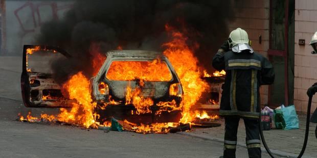 Lasne: il boute le feu à son véhicule après un délit de fuite - La Libre