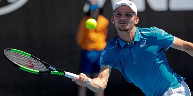 """Goffin écarte le qualifié Bachinger à l'Open d'Australie: """"Ce n'était pas facile de trouver mon rythme"""" - La Libre"""