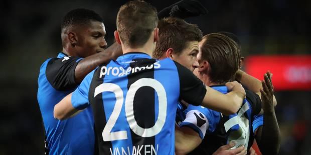 Vanaken, Mechele et Vormer étrillent Charleroi (5-1) et envoient Bruges en demi-finale de la Croky Cup - La Libre