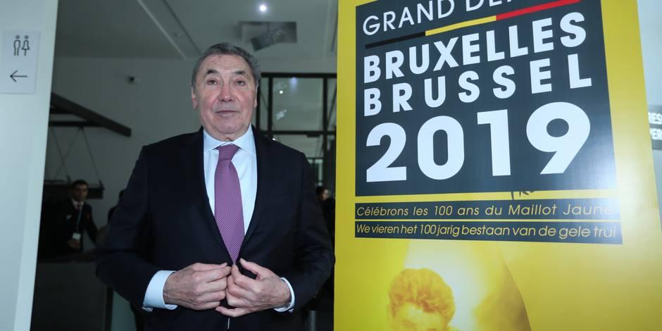 Merci Eddy Merckx pour ce que vous avez fait et faites encore pour la Belgique - La Libre