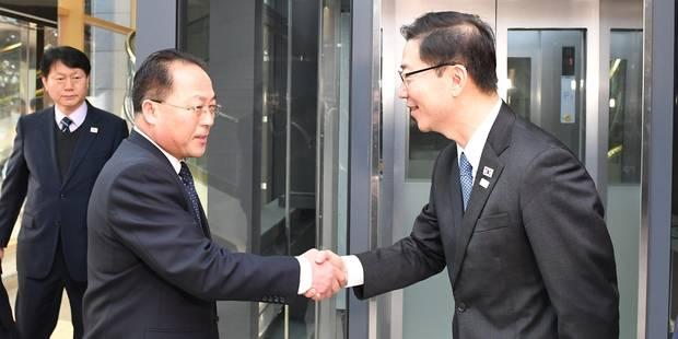 Les deux Corées d'accord pour défiler ensemble lors de la cérémonie d'ouverture des JO 2018 - La Libre
