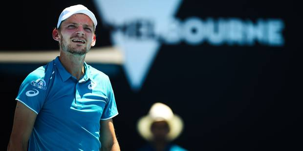 Australian Open: Goffin sorti en 4 sets par Benneteau, ça passe pour Djoko, Muguruza battue - La Libre