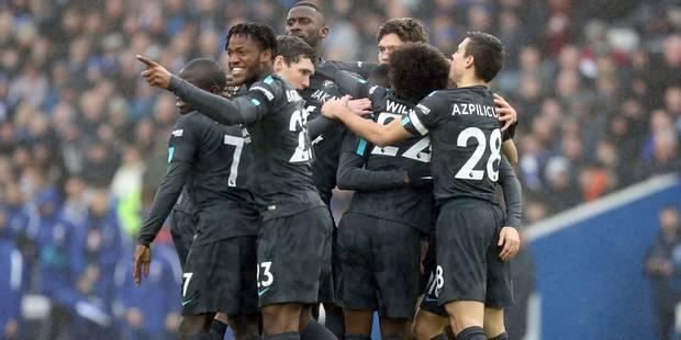 Doublé pour Hazard, passe décisive pour Musonda et Batshuayi, but magnifique de Willian... les Belges de Chelsea se réga...