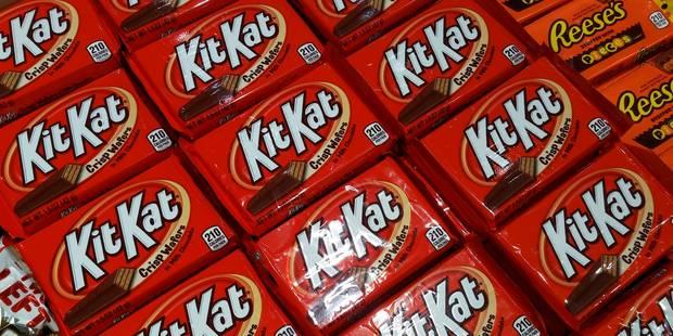 Le Kitkat au chocolat rose, une première mondiale - La Libre