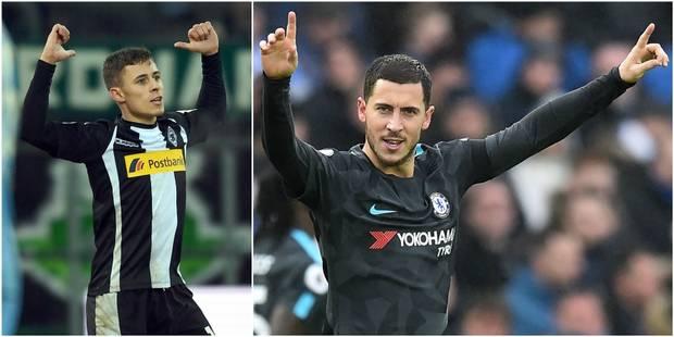 Belges à l'étranger: un but et un assist pour Thorgan Hazard, Lukaku, Benteke et KDB passeurs! (VIDEOS) - La Libre