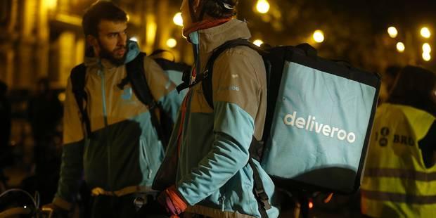 """Deliveroo: le collectif des coursiers vote une grève """"au finish"""" - La Libre"""